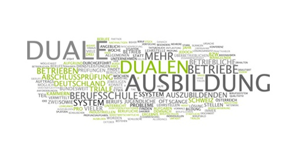 Duales System - Ausbildungen werden in Lehrbetrieben und Berufsschulen absolviert